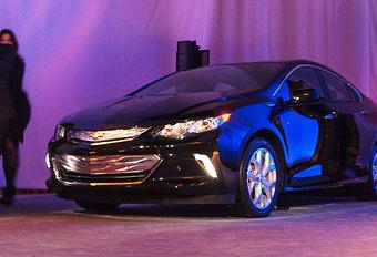 Chevrolet toont nieuwe Volt eventjes #1