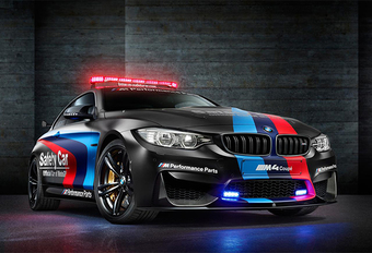 BMW M4 met waterinjectie voor MotoGP #1
