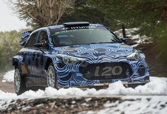 Voor 2016: Thierry Neuville test zijn nieuwe i20-rallywagen #1