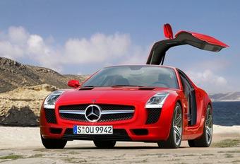 Mercedes Gullwing #1