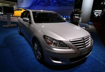 Hyundai Genesis Car of the Year aux USA #1