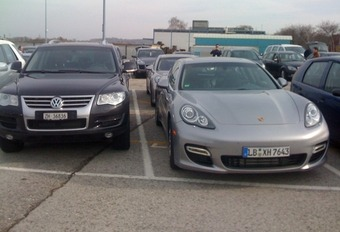 Porsche Panamera toch in Genève #1