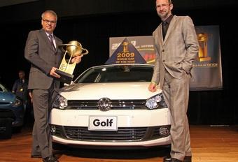 La Golf élue Voiture mondiale 2009 #1