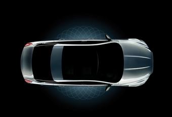 Eerste glimp van nieuwe Jaguar XJ #1