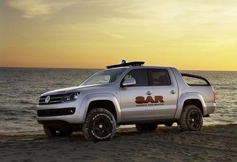 Volkswagen Amarok in de Dakarrally #1