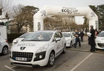 Belgen schitteren in Peugeot Eco Cup #1