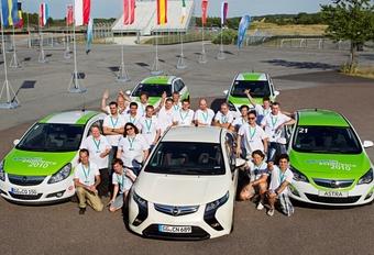 Opel EcoFlex Experience: de winnaars #1