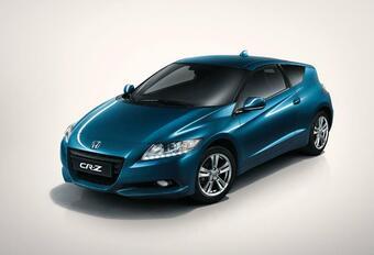 Honda CR-Z 'Auto van het Jaar' in Japan #1
