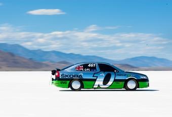 Skoda Octavia RS aan 325 km/h #1