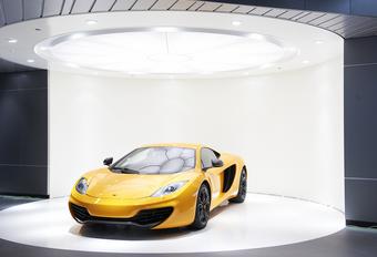 Showroom McLaren à Bruxelles #1