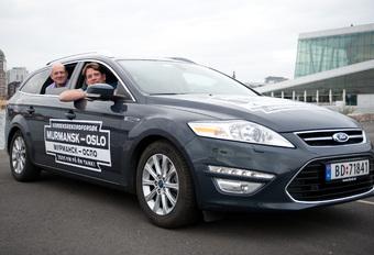 2161 km avec un plein en Ford Mondeo #1