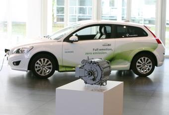 Première Volvo C30 électrique livrée à Siemens #1