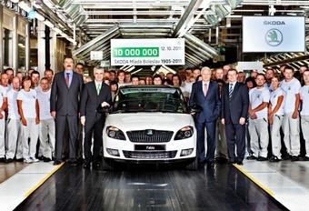 10 miljoen Skoda's in de moederfabriek #1