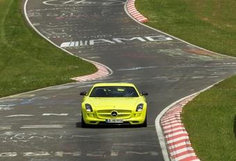 Elektrische recordtijd voor Mercedes SLS AMG #1