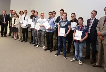Audi Brussels a ses 10 premiers diplômés #1