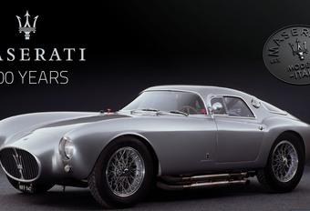 Les 100 ans de Maserati à Autoworld #1