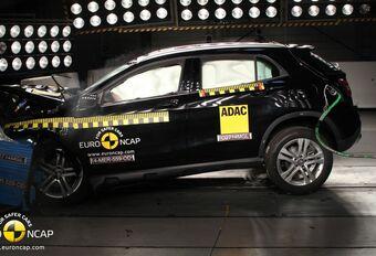 5 étoiles EuroNCAP uniquement pour la Mercedes GLA #1
