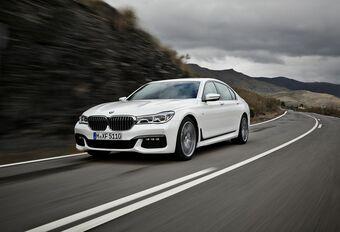 BMW Série 7 : gestuelle et ultra sophistiquée #1