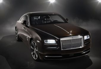 Rolls-Royce Wraith 'Inspired by Music' : pour rockeurs  #1