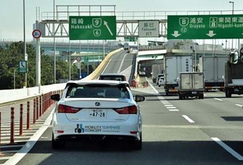 Zelfrijdende auto van Toyota klaar tegen Olympische Spelen van Tokio in 2020 #1
