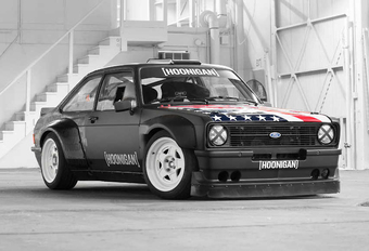 Ken Block gaat helemaal Gymkhana met Hoonigan-Ford Escort RS Mk2 #1