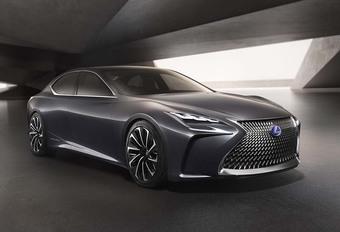 Lexus LF-FC : bientôt une LS à pile à combustible #1