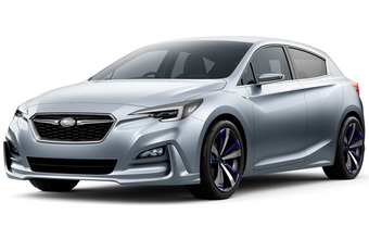 Subaru toont in Tokio toekomstige Impreza #1