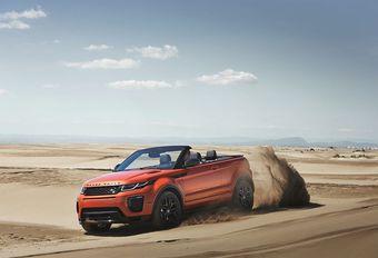 Range Rover Evoque Cabriolet : prendre le soleil hors piste #1