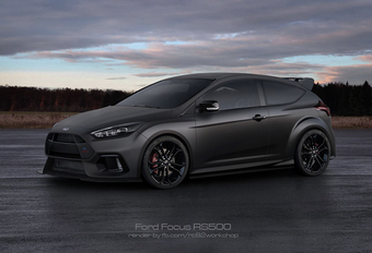 Ford Focus RS500 wordt de allersnelste hot-hatch #1