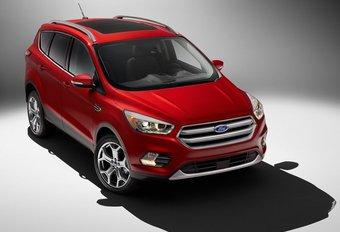 Ford Escape : restylage en vue pour le Kuga chez nous #1