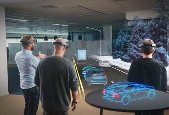VIDÉO | Volvo étudie le configurateur 3D en réalité augmentée HoloLens #1