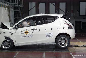 EuroNCAP-crashtests: slechte beurt voor de Ypsilon en de Z4 #1