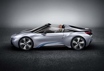 BMW i8 : bientôt le spyder ? #1