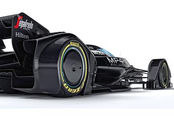 McLaren MP4-X toont toekomst van F1 #1