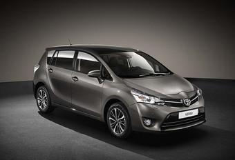 Toyota Verso: discrete update voor 2016 #1