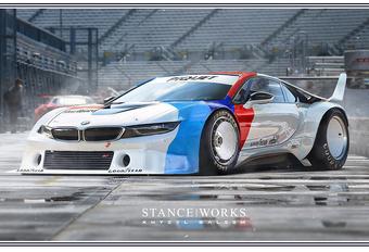 Dromen van de BMW i8 Procar #1