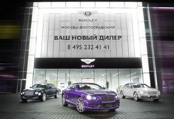 Les riches Russes thésaurisent en voitures de luxe #1