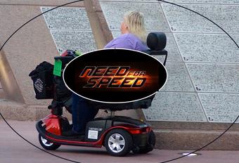 Hoe snel gaat 's werelds snelste rolstoel? #1