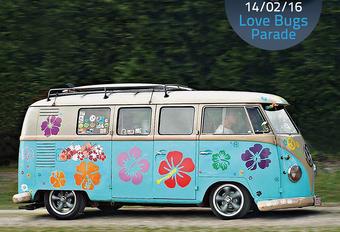 Love Bugs Parade eert Volkswagen T1 #1