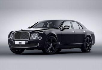 Bentley Mulsanne Speed Beluga Edition: zwarte raaf #1