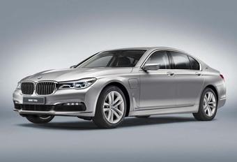BMW 740e iPerformance : hybride et rechargeable #1