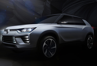 SsangYong SIV-2 is voorbode middelgrote SUV  #1
