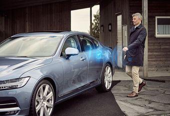 Volvo komt met virtuele sleutel #1