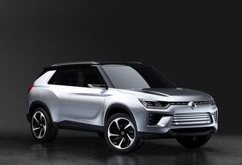 SsangYong SIV-2 Concept in volle glorie #1
