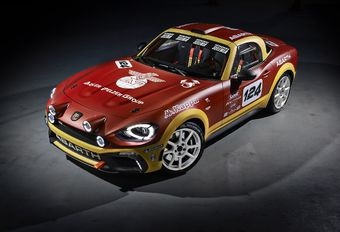 Abarth 124 Spider Rally : homologuée pour la course #1