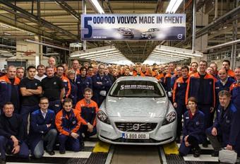 Volvo Gand: 900 emplois menacés avec la prochaine Série 40 #1