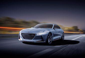 Genesis New York Concept: hybride luxeberline #1