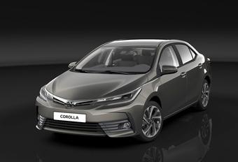 Toyota Corolla : facelift mondial #1