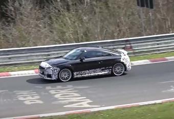 Toekomstige Audi TT RS: al in de vangrail  #1