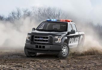 Ford F150 jaagt op bandieten #1